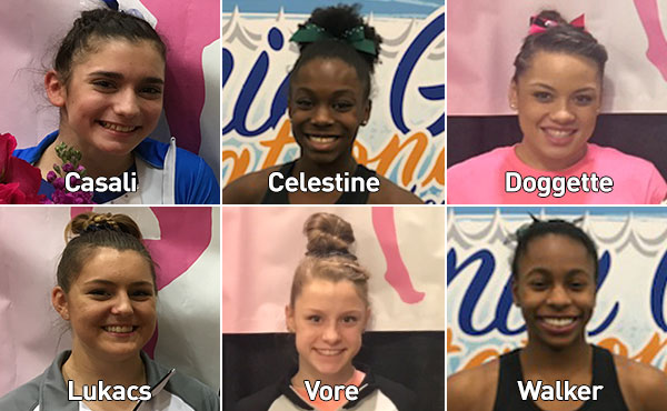 Six athletes added to field for 2018 Nastia Liukin Cup