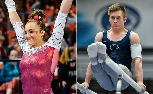 Collegiate gymnastics weekly recap - Jan. 15-21