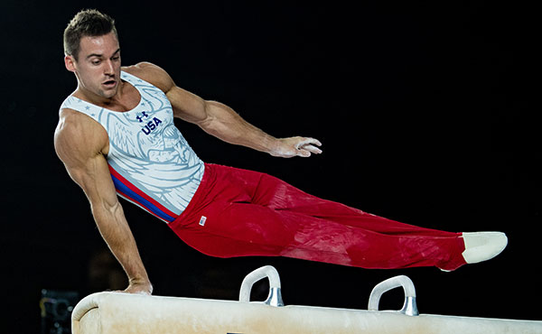 Mikulak leads after first day of competition at the 2018 Winter Cup Challenge