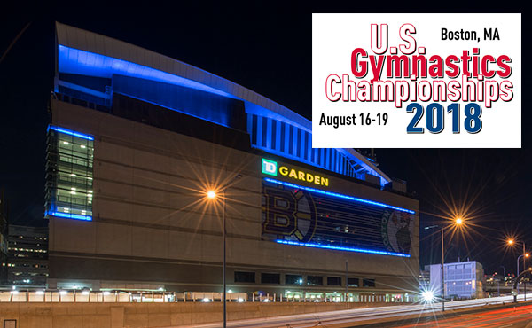 All-session tickets for 2018 U.S. Gymnastics Championships in Boston are on sale now