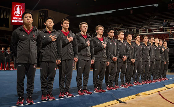 Stanford, Minnesota, Nebraska advance to finals at 2018 NCAA Men's Gymnastics Championships