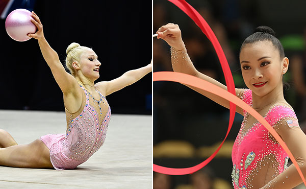 Budginas, Xiao win all-around titles at 2018 Rhythmic National Qualifier