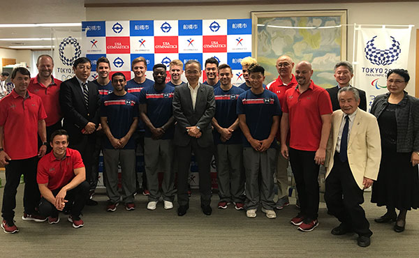 Nine Senior National Team members participate in training camp In Japan