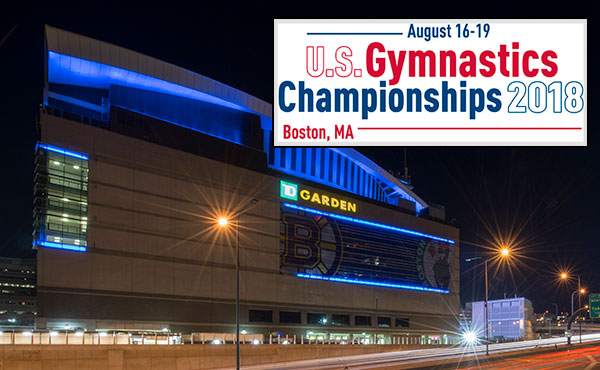 Single-session tickets for 2018 U.S. Gymnastics Championships at Boston's TD Garden go on-sale June 25