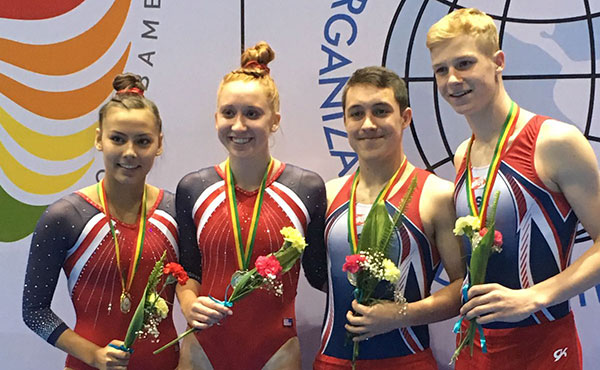 USA sweeps synchronized trampoline titles at 2018 Junior Pan Am Championships