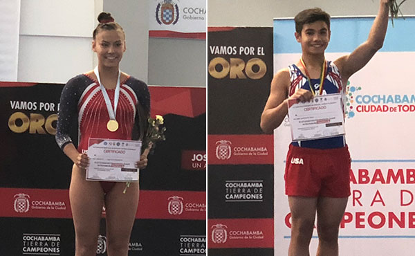 Oh wins trampoline gold at 2018 Junior Pan Am Championships
