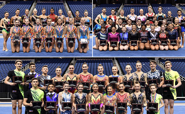 USA Gymnastics announces 2018-19 U.S. National Teams