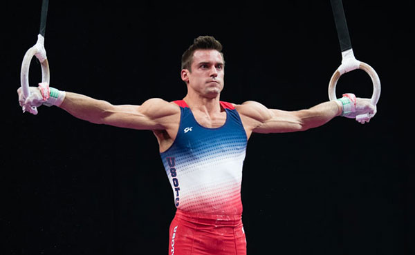 Mikulak leads senior men's all-around rankings at midpoint of 2018 U.S. Gymnastics Championships