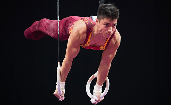 Briones wins junior 17-18 all-around title at 2018 U.S. Gymnastics Championships