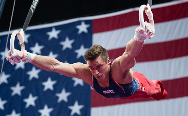 Mikulak wins all-around at 2018 Men's World Team Selection Camp