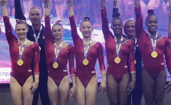 U.S. women win team gold at 2018 Senior Pan Am Championships