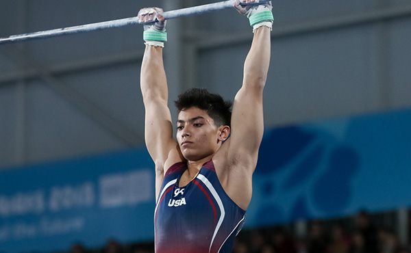 Briones finishes fourth in high bar final at 2018 Youth Olympic Games