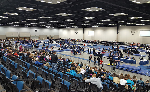 USA Gymnastics selects sites for women's 2019-20 Junior Olympic championship events