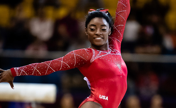 Simone Biles Named United States Sports Academy's 2018 Female Athlete of the Year