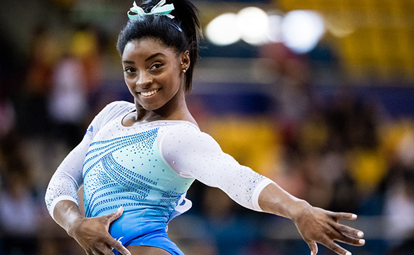 With records and medals galore, Simone Biles rules Doha Worlds