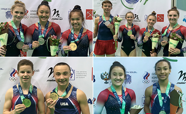 USA wins nine medals at World Age Group Competition