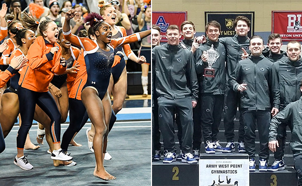 Collegiate gymnastics weekend recap - Jan. 7-13