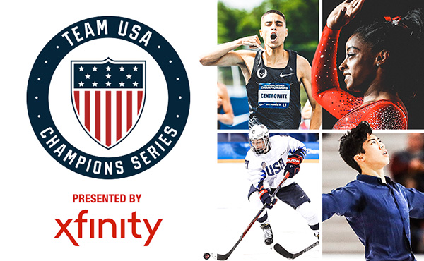 U.S. Olympic Committee announces schedule for 2019 Team USA Champions Series, presented by Xfinity