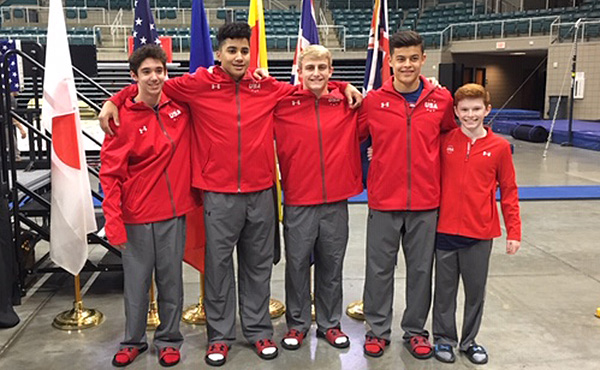 Team USA is ready to compete in 2019 RD761 Junior International Team Cup