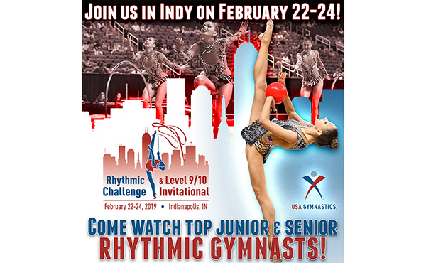 2019 Rhythmic Challenge begins Feb. 22