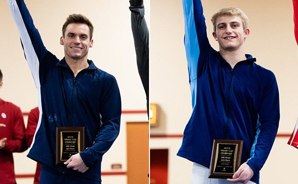 Mikulak wins five event medals, Walker takes junior all-around title at 2019 Winter Cup Challenge