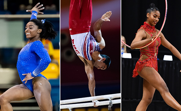 U.S. gymnasts compete in four international events this weekend
