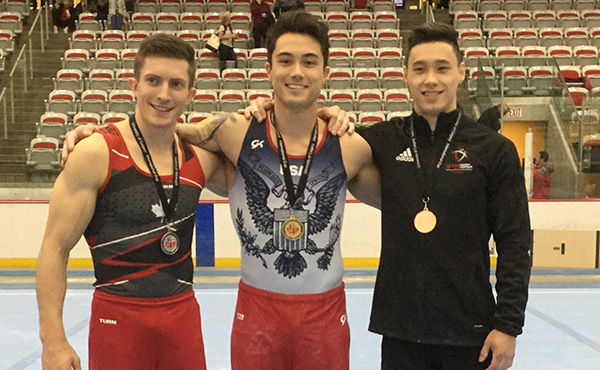 Melton wins all-around at University of Calgary International Cup