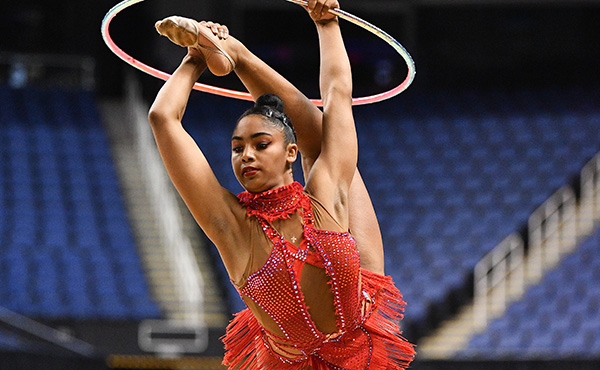 Generalova finishes fifth in Grand Prix hoop final