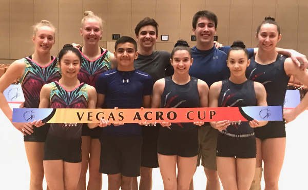 Acro's World Cup begins March 22 during 2019 Las Vegas Acro Cup