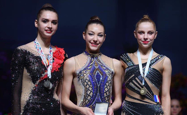 Griskenas wins ball title, plus two more event medals, at Corbeil International Tournament