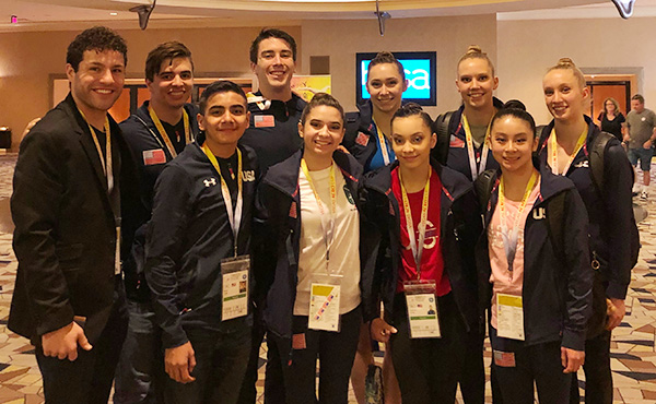 USA wraps up performances at 2019 Las Vegas Acro Cup