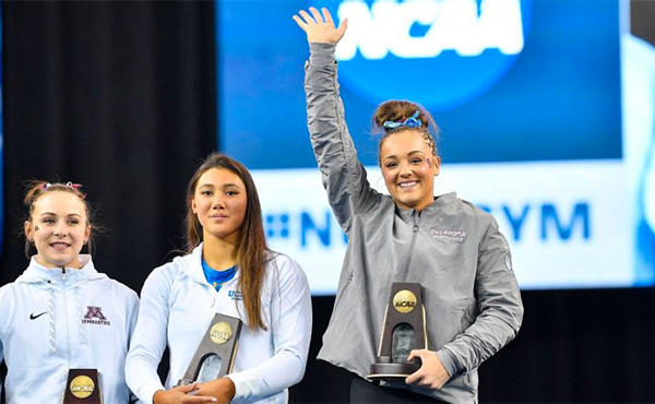 Nichols wins NCAA all-around title