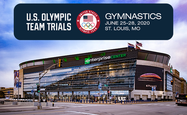 St. Louis will host 2020 U.S. Olympic Team Trials – Gymnastics