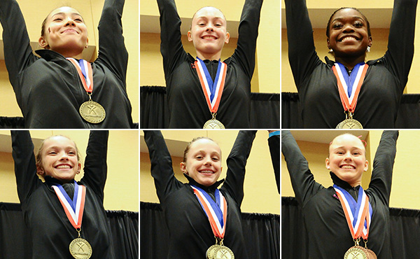 Six champions crowned at 2019 U.S. Junior Olympic Championships