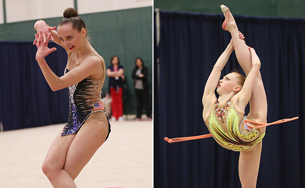 Feeley, Kautzman win all-around titles at 2019 Rhythmic Elite Qualifier