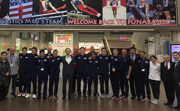 Eight Senior National Team members participate in training camp In Japan