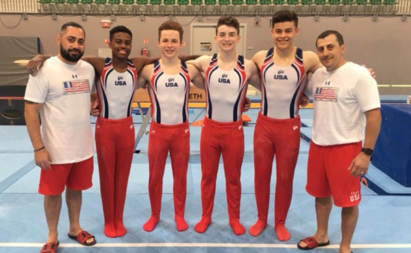 U.S. men's team line-up is set for team finals at Junior World Championships