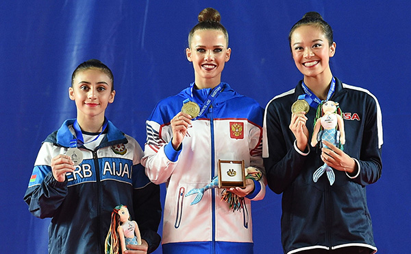 Zeng wins all-around bronze at 2019 World University Games