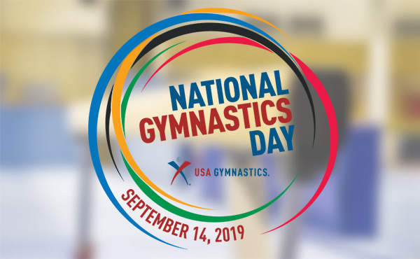 2019 National Gymnastics Day is Sept. 14