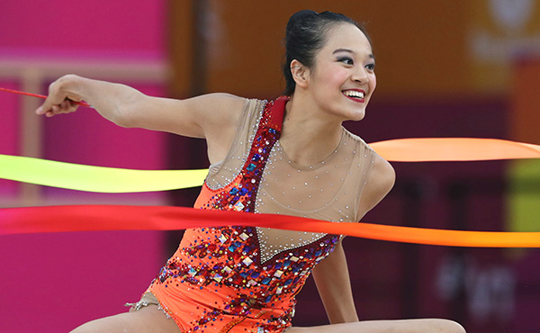 Zeng finishes fifth in ribbon final at 2019 World Rhythmic Gymnastics Championships