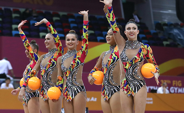 USA finishes 10th in group all-around at 2019 World Rhythmic Gymnastics Championships