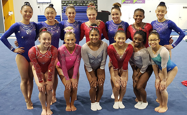 Biles wins U.S. Women's World Championships Selection Camp all-around, automatically qualifies to 2019 team
