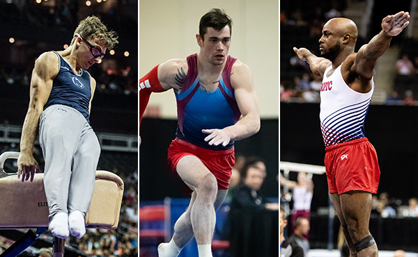 Nedoroscik, Van Wicklen, Whittenburg are set to compete in 2019 World Cup in Cottbus, Germany