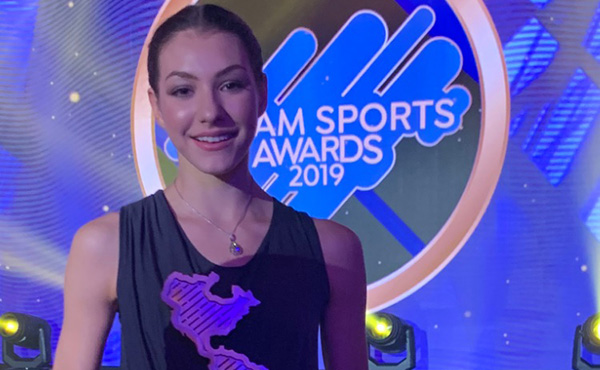 Griskenas wins Pan Am Sports Award
