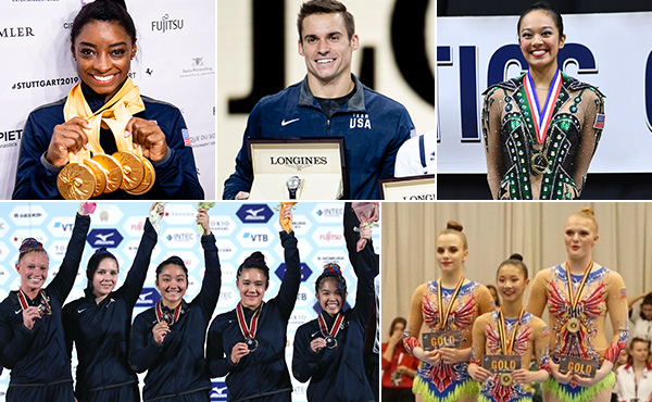 U.S. gymnasts found success on and off the competition floor in 2019