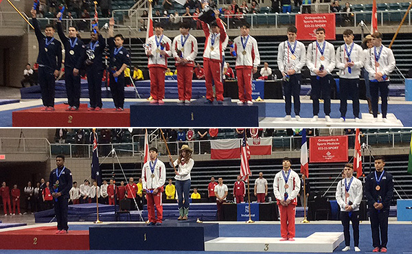 USA wins team, all-around silver at 2020 RD761 Junior International Team Cup