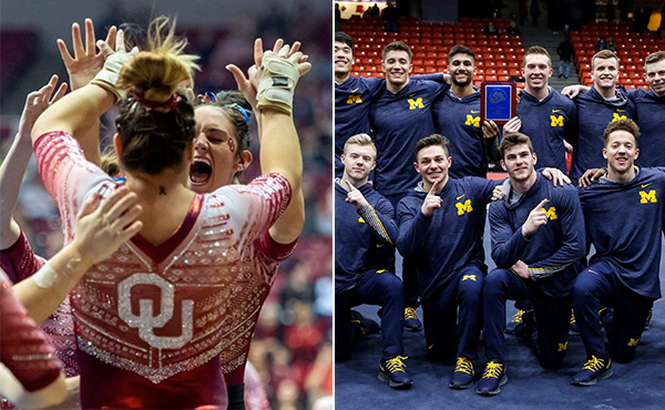 Collegiate gymnastics weekend recap - Jan. 16-19, 2020