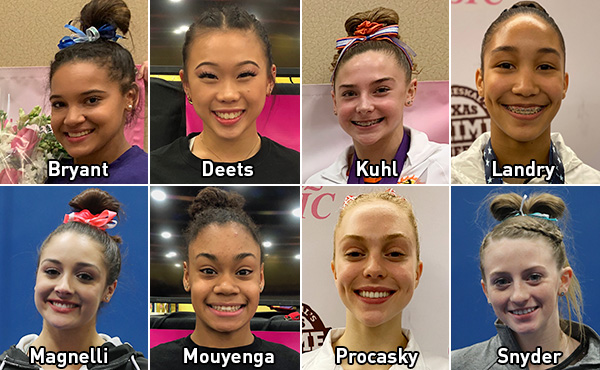 Eight additional gymnasts qualify for 2020 Nastia Liukin Cup