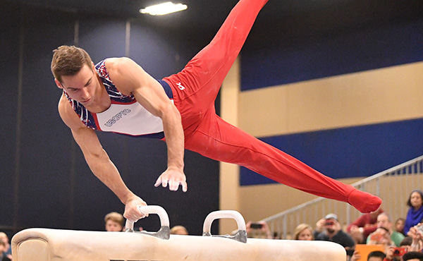 Mikulak Wins Senior All-Around Title 2020 Winter Cup Challenge