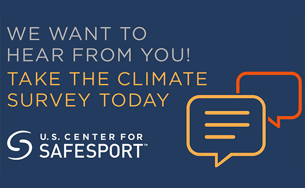 U.S. Center for Safesport Launches 2020 Athlete Climate Survey